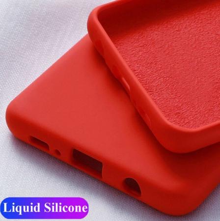 Husa iPhone 11 2019 Rosu Silicon Slim protectie Premium Carcasa3