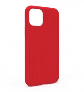 Husa iPhone 11 2019 Rosu Silicon Slim protectie Premium Carcasa1