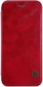 Husa Flip iPhone 11 Rosu Tip Carte Magnetica Nillkin Qin0