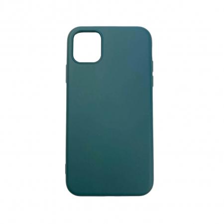 "Husa iPhone 11 - 6.1 "" Carcasa Spate X-Level Thin Soft TPU Premium Dark Green0"