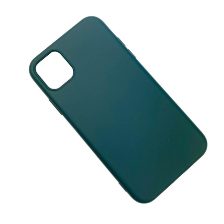 "Husa iPhone 11 - 6.1 "" Carcasa Spate X-Level Thin Soft TPU Premium Dark Green2"
