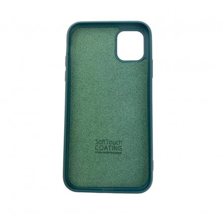"Husa iPhone 11 - 6.1 "" Carcasa Spate X-Level Thin Soft TPU Premium Dark Green1"