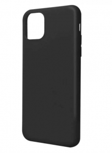 Husa iPhone 11 Silicon Negru X-Level Thin2