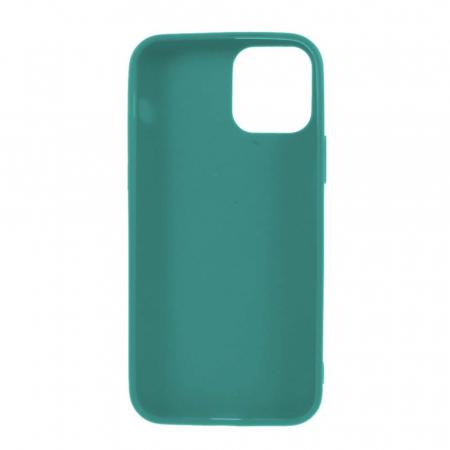 Husa iPhone 11 Dark Green Silicon Slim protectie Carcasa1
