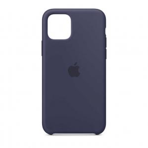 "Husa iPhone 11 Pro 2019 - 5.8 "" Bleumarin Carcasa Silicon Premium Slim Logo"