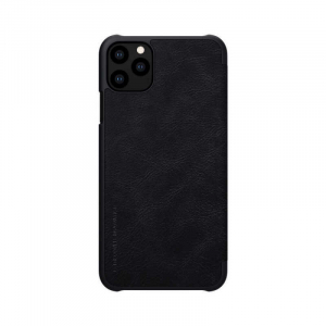 Husa Flip iPhone 11Pro Negru Tip Carte Magnetica Nillkin Qin1