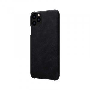 Husa Flip iPhone 11Pro Max Negru Tip Carte Magnetica Nillkin Qin5