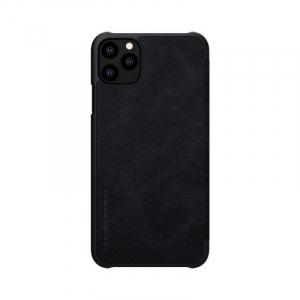 Husa Flip iPhone 11Pro Max Negru Tip Carte Magnetica Nillkin Qin2