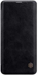 Husa Flip iPhone 11Pro Max Negru Tip Carte Magnetica Nillkin Qin1