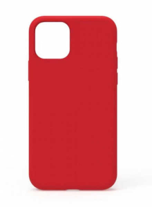 Husa iPhone 11 2019 Rosu Silicon Slim protectie Premium Carcasa0