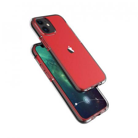 Husa iPhone 11 Transparent Silicon Antisoc Hey