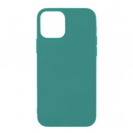 Husa iPhone 12 Mini Dark Green Silicon Slim protectie Carcasa [0]