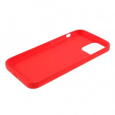 Husa iPhone 12 Mini Rosu Silicon Slim protectie Carcasa [3]