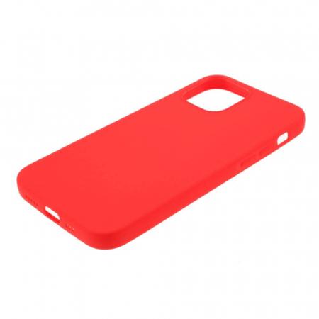 Husa iPhone 12 Rosu Silicon Slim protectie Carcasa [3]