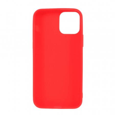 Husa iPhone 12 Rosu Silicon Slim protectie Carcasa [1]
