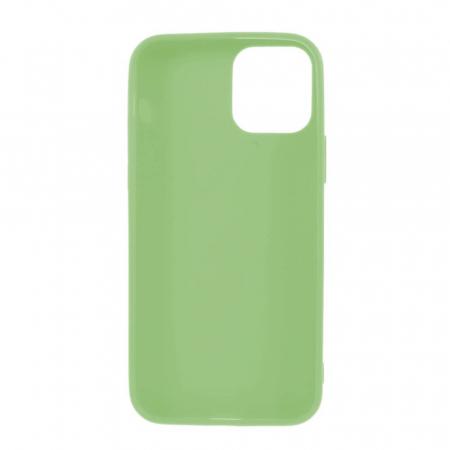 Husa iPhone 12 Verde Silicon Slim protectie Carcasa [1]