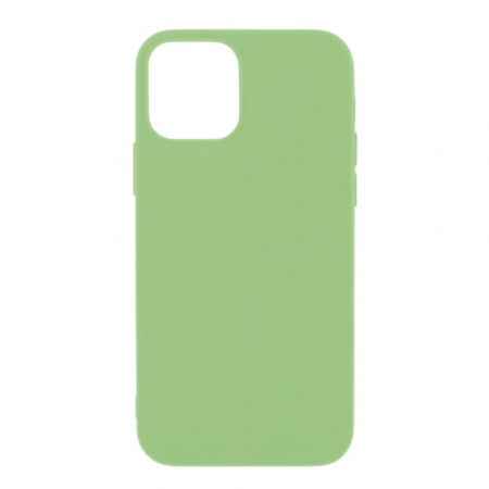 Husa iPhone 12 Verde Silicon Slim protectie Carcasa [0]