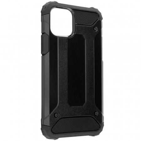 Husa iPhone 12Pro Max Silicon Antisoc Negru Hybrid Armor [3]