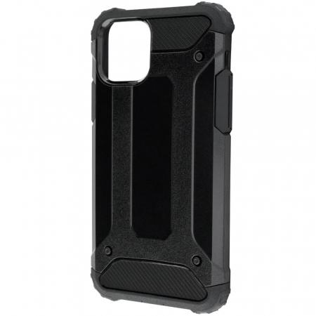 Husa iPhone 12Pro Max Silicon Antisoc Negru Hybrid Armor [10]