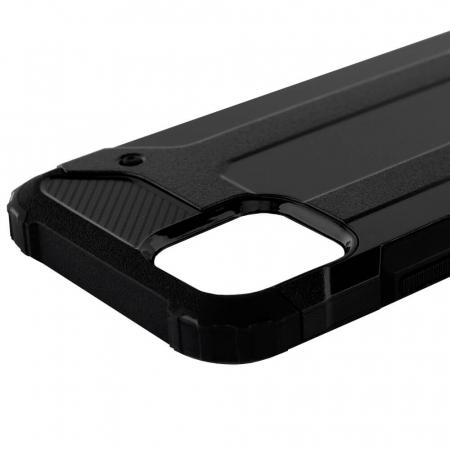 Husa iPhone 12Pro Max Silicon Antisoc Negru Hybrid Armor [6]
