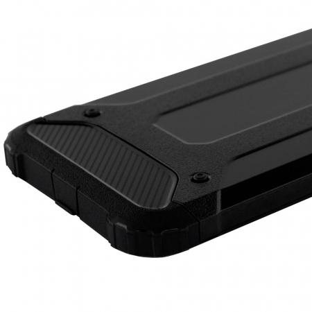Husa iPhone 12Pro Max Silicon Antisoc Negru Hybrid Armor [8]