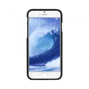 Husa iPhone 6 6S Carcasa Spate Mercury Jelly TPU Rezistent Flexibil Negru1
