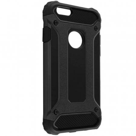 Husa iPhone 6 Plus / 6s Plus Silicon Antisoc Negru Hybrid Armor [0]