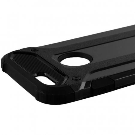 Husa iPhone 6 Plus / 6s Plus Silicon Antisoc Negru Hybrid Armor [3]