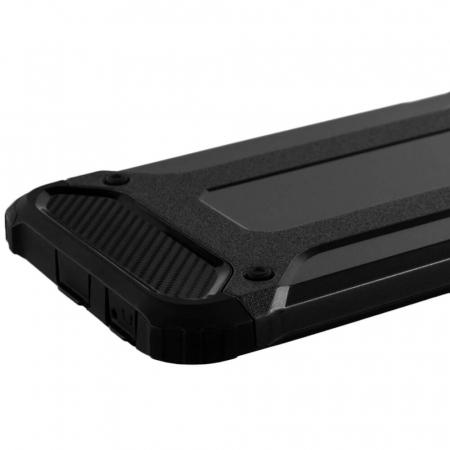 Husa iPhone 6 Plus / 6s Plus Silicon Antisoc Negru Hybrid Armor [4]