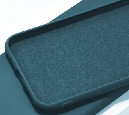 Husa iPhone 8 Bleumarin Silicon Slim protectie Premium Carcasa [1]