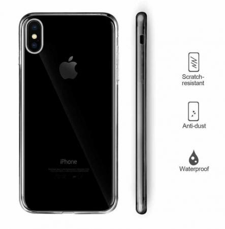 Husa iPhone X Full Cover 360 Grade Transparenta3