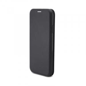 Husa iPhone X / iPhone XS Flip Cover Tip Carte Magnetica Negru OEM3