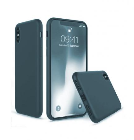 Husa iPhone XR Bleumarin Silicon Slim protectie Premium Carcasa1