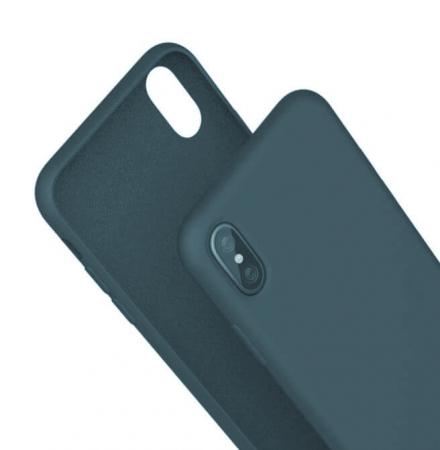 Husa iPhone XR Bleumarin Silicon Slim protectie Premium Carcasa0
