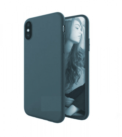Husa iPhone XR Bleumarin Silicon Slim protectie Premium Carcasa3