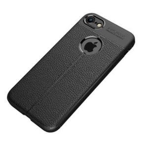 Husa iPhone Xr Silicon TPU Colorat Negru-Autofocus Black0