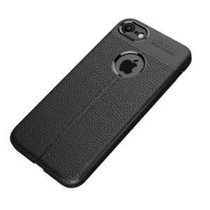 Husa iPhone Xr Silicon TPU Colorat Negru-Autofocus Black1