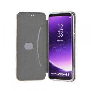 Husa iPhone X  / iPhone XS Tip Carte Flip Cover din Piele Ecologica Neagra Portofel cu Inchidere Magnetica (Black)3