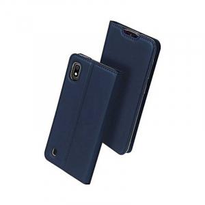 Husa Samsung Galaxy A10 2019 Bleumarin Piele Eco Toc Tip Carte Portofel Premium DuxDucis0