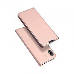 Husa Flip Samsung Galaxy A10 Tip Carte Roz Skin DuxDucis4