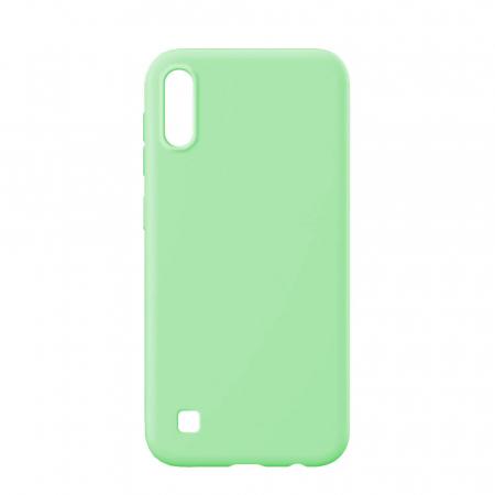 Husa Samsung Galaxy A10 2019 Verde Silicon Slim protectie Premium Carcasa [0]