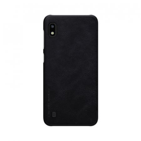 Husa Flip Samsung Galaxy A10 Negru Tip Carte Magnetica Nillkin Qin [2]