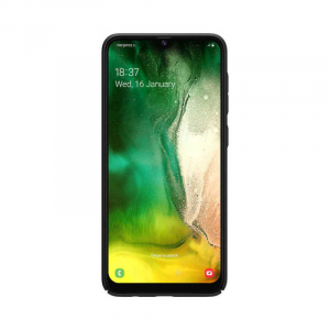 Husa Silicon Samsung Galaxy A20 Negru Mat Nillkin Frosted3
