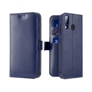 Husa Samsung Galaxy A20 E 2019 Albastru Flip Kado0