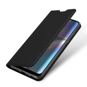 Husa Samsung Galaxy A20E 2019 Negru Piele Eco Toc Tip Carte Portofel Premium DuxDucis [1]