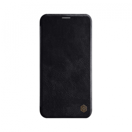 Husa Flip Samsung Galaxy A21 S Negru Tip Carte Magnetica Nillkin Qin [0]