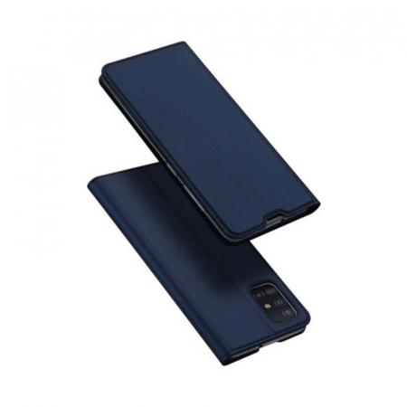 Husa Flip Samsung Galaxy A21S Tip Carte Bleumarin Skin DuxDucis4