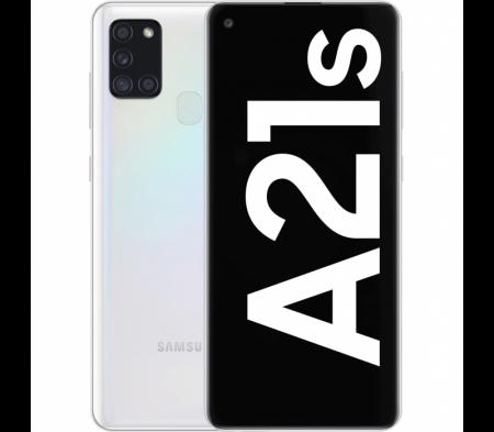 Husa Samsung Galaxy A21S Flip Oglinda Mov Tip Carte Clear View [4]
