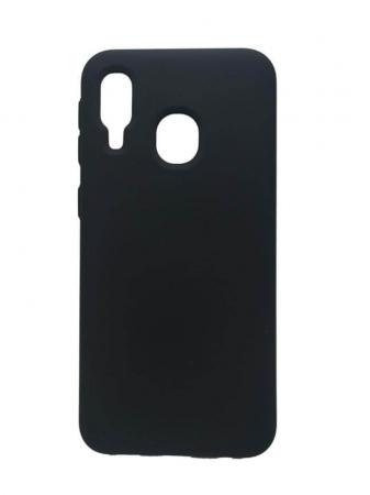 Husa Samsung Galaxy A40 2019 Negru Silicon Slim protectie Premium Carcasa [0]
