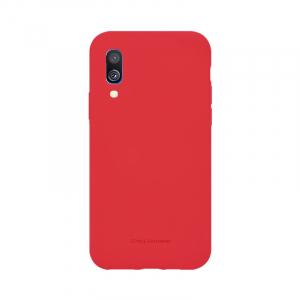 Husa Samsung Galaxy A40 2019 Rosu Carcasa Silicon Mat Molan Cano